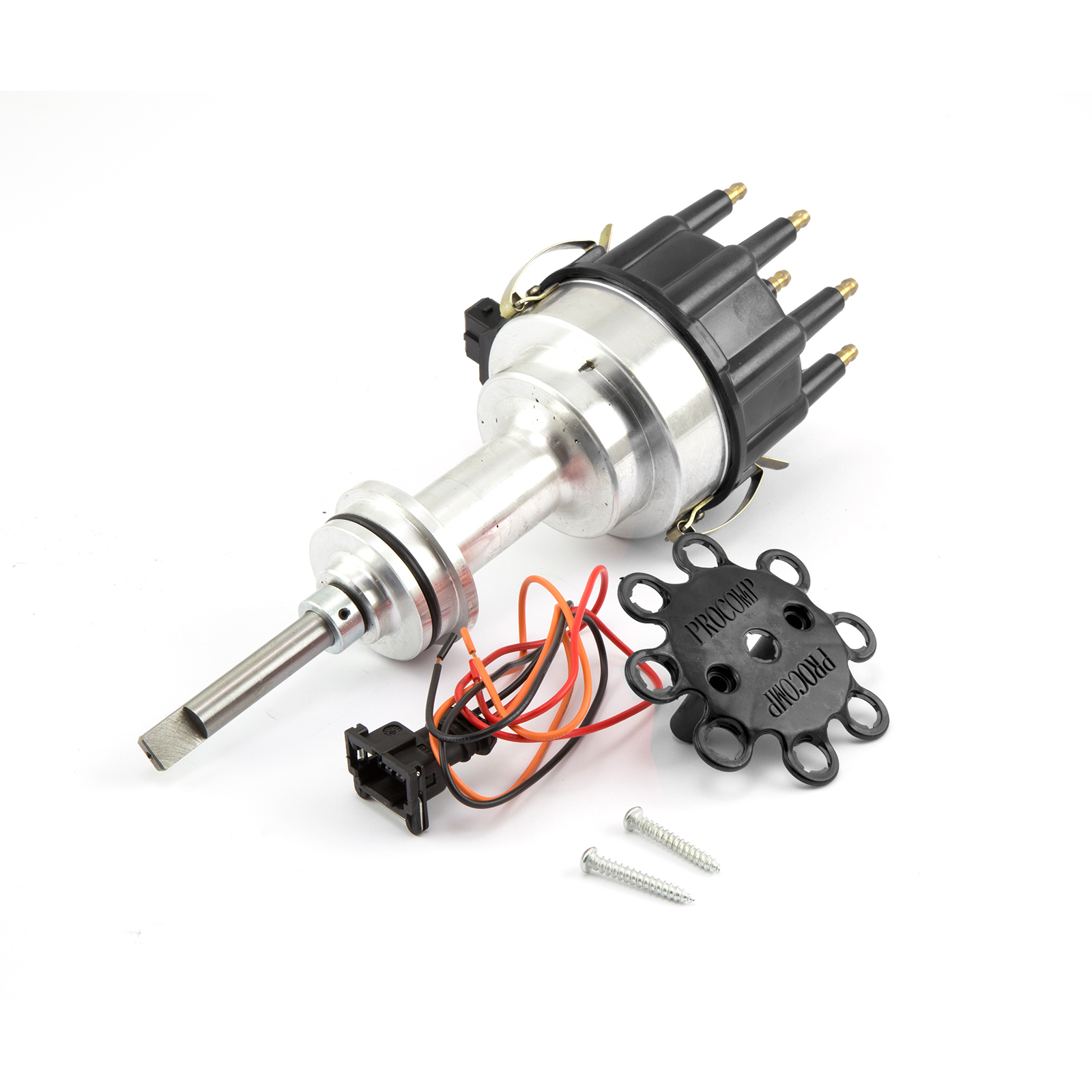 Mopar Chrysler BB 440 8020 Series Pro Billet Ready to Run Distributor [Black]