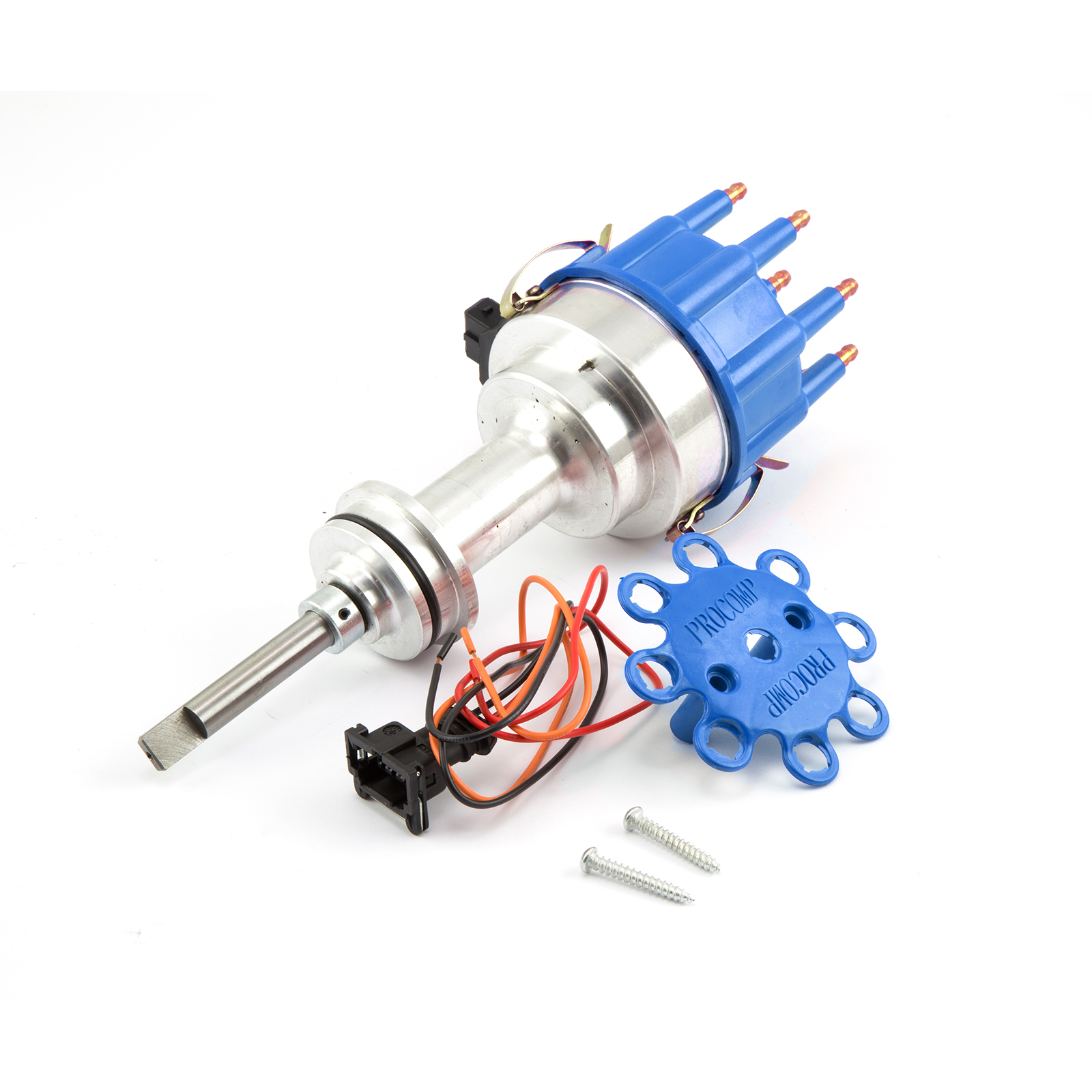 Mopar Chrysler BB 440 8020 Series Pro Billet Ready to Run Distributor [Blue]