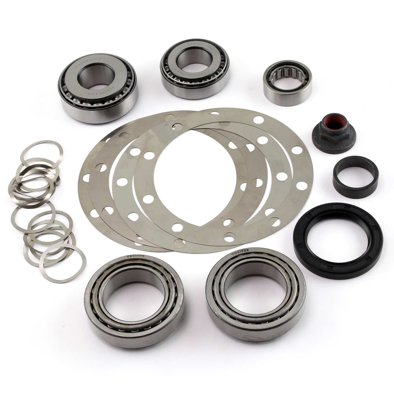 """Speedmaster® PCE593.1002 9"""" Ford Rear End Ring and Pinion Bearing Installation Rebuild Kit 3.25"""" Carrier"""