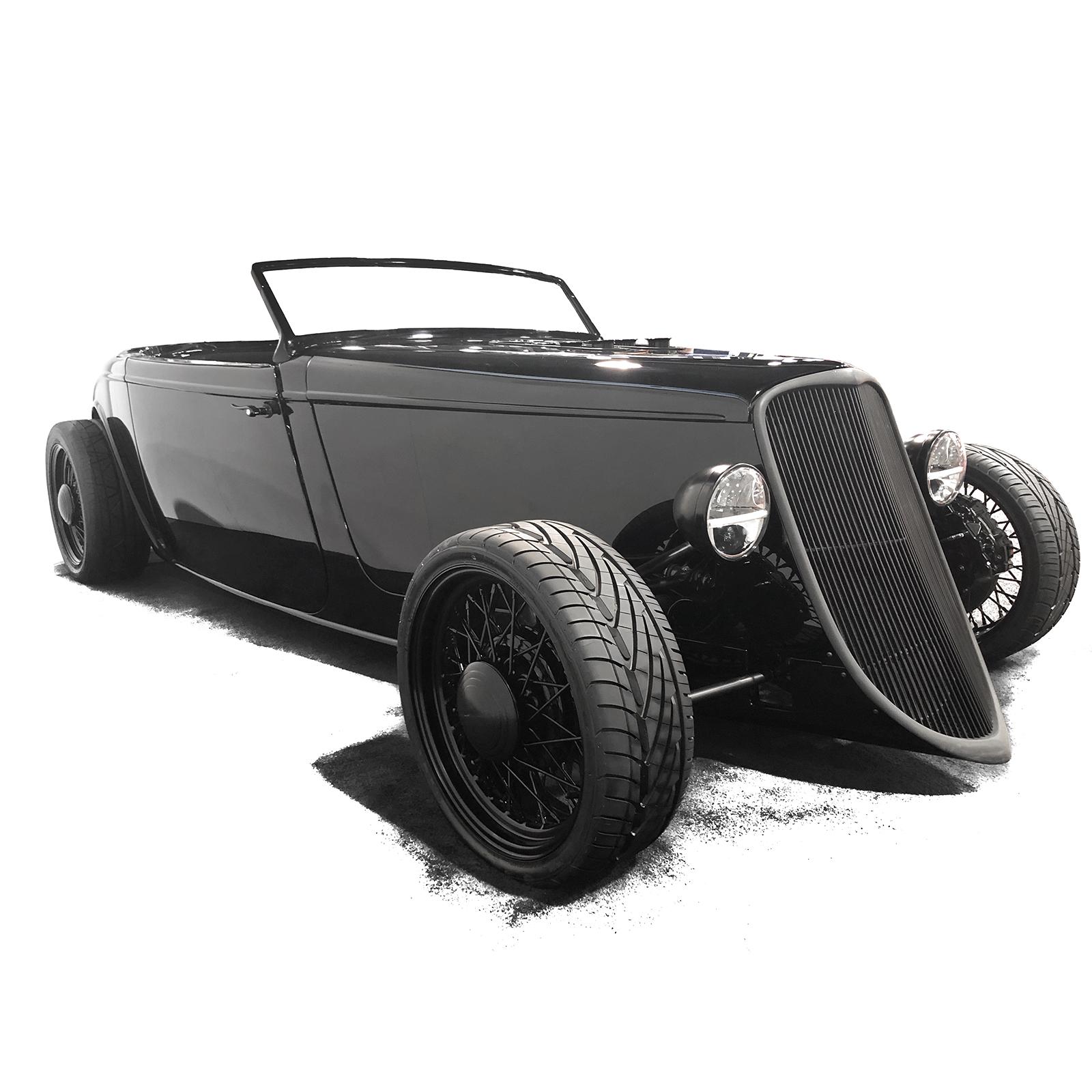 Speedmaster™ Blackbetty® Ford 33 Coupe Complete Automobile